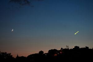 Mjesec i Merkur 22.6.2012.