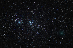 Double Cluster i kometa Hartley