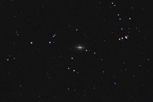 Edge-on galaksija M104