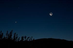 Mjesec Saturn i Venera 16.10.2009.