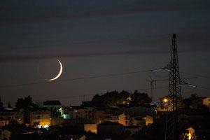 Zalazak Mjeseca 17.10.2012.