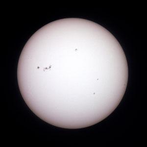 Sunčeve pjege 12.1.2013.