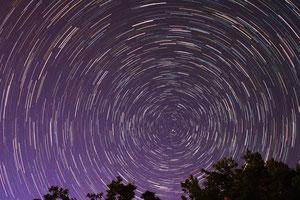 Tragovi zvijezda oko sjevernog pola