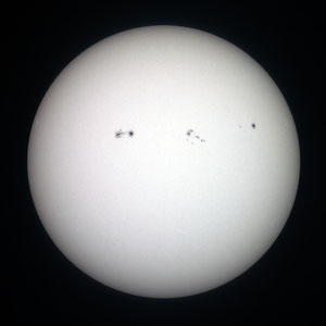 Sunce i pjege 2.8.2011.