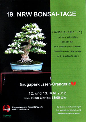 19. Bonsaitage in Essen