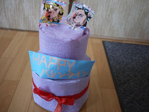 バレンタインケーキ???