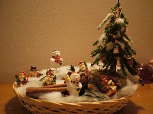 玄関に可愛いクリスマス!!