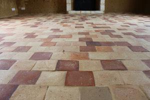 carreaux de terre cuite neufs St Samson (image)
