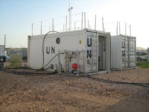 Containerkläranlagen in Abeche/Tschad