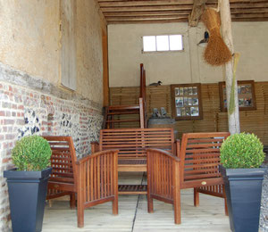 lieu d'accueil des chambres d'hôtes près de la Baie de Somme