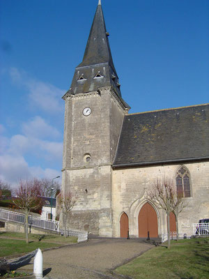 Le clocher de l'église, XVIe siècle