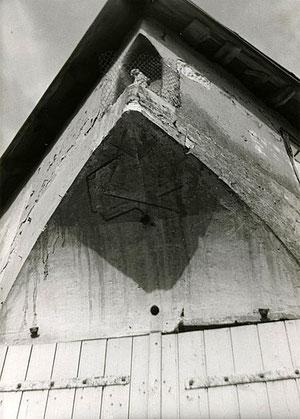 Photo noir et blanc prise en 1980
