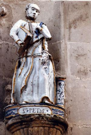 La statue avant restauration