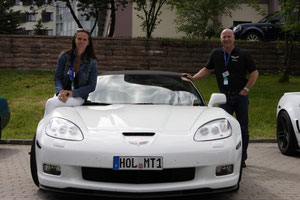Corvette C6 Grand Sport Cabrio von Nicole und Michael