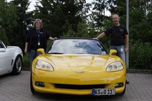 Corvette C6 Cabriolet von Sabine und Michael