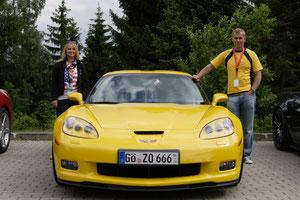 Corvette C6 Z06 von Isolde und Oli