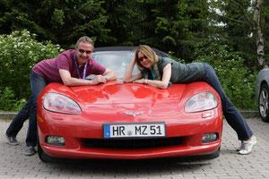 Corvette C6 Cabriolet von Michael und Jutta