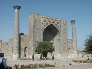 La Madrasa d'Ulugh Beg à Samarcande (A.Billard, 2008)