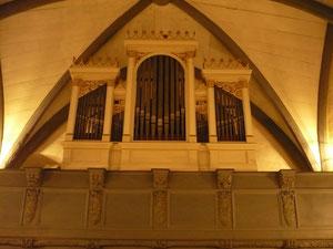 Orgel in Kleinern, Prospekt