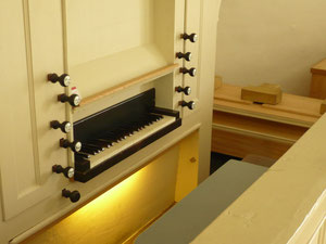 Orgel in Braunau, Prospekt