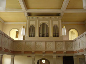 Orgel in Basdorf, Prospekt