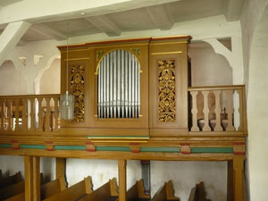 Orgel in Giflitz, Prospekt