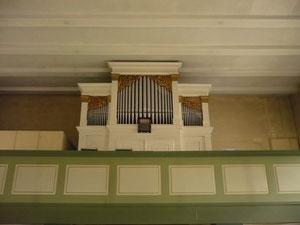 Orgel in Königshagen, Prospekt