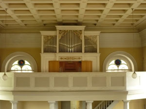 Orgel in Hemfurth, Prospekt