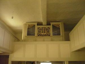 Orgel in Böhne, Prospekt