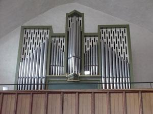 Orgel in Waldeck, Prospekt