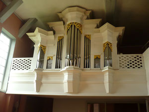Orgel in Armsfeld, Prospekt