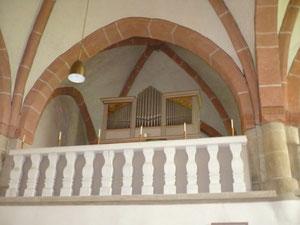 Orgel in Netze, Prospekt