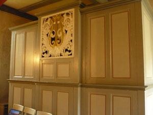 Orgel in Frebershausen, Prospekt