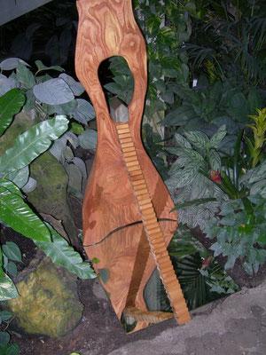 """Langer Weg, aus dem Zyklus """"Cipangu - mythisches Japan"""", Holz"""