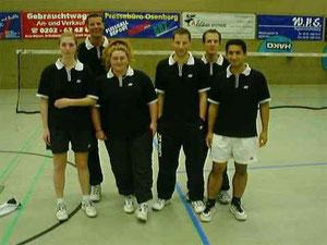 4.Mannschaft v.l.: Kirsten Steinhage, Michael Rottmann, Sabine Krull-Jörgens, Kai Döllermann, ? und Ismail Demircan