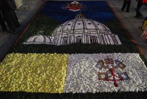 La catifa de la Sagrada Família