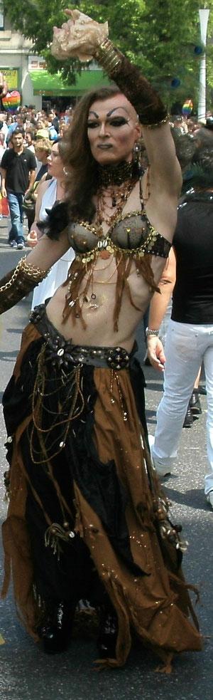 "Costume ""Tribal"", création 2012"