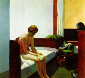 """""""Habitación de hotel"""", de Edward Hopper  (1931)"""