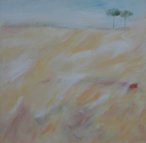 Landschaft.Acryl/Leinwand.120x120cm