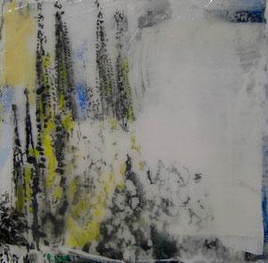 Barcelona.Sagradafamilia.Acryl/Leinwand.20x20cm