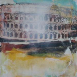 Rom.Kolosseum.Acryl/Leinwand.100x100cm