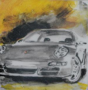 Porsche.Acryl/Leinwand.120x120cm