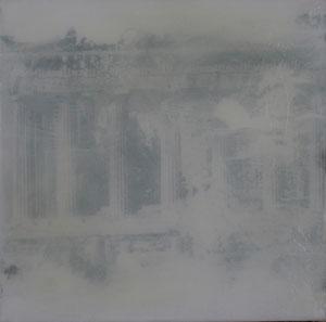 Athen.Akropolis.Acryl/Leinwand.50x50cm