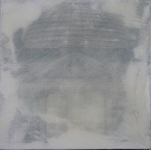 Berlin.Reichstag.Acryl/Leinwand.50x50cm