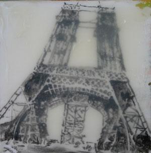 Paris.Eiffelturm.Acryl/Leinwand.50x50cm