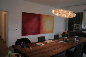 Wohnobjekt mit Arbeiten von Gabriele Sättler-Döppner