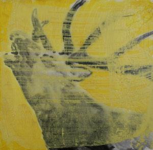 Hirsch1.Acryl/Leinwand.20x20cm