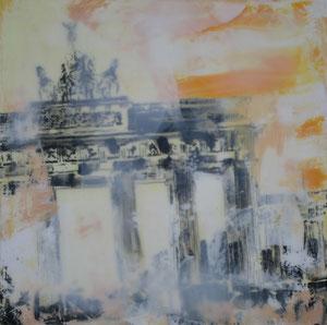Berlin.Brandenburger Tor5.Acryl/Leinwand.20x20cm