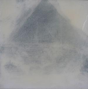 Kairo.Cheopspyramide.Acryl/Leinwand.50x50cm