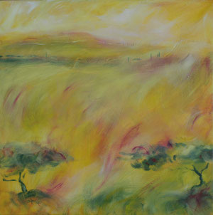 Toskana4.Acryl/Leinwand.50x50cm